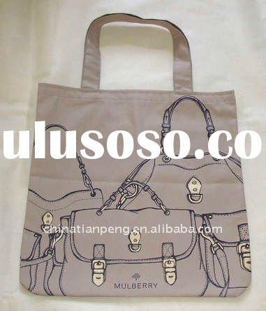 natural cotton fabric hand bags/tote bags