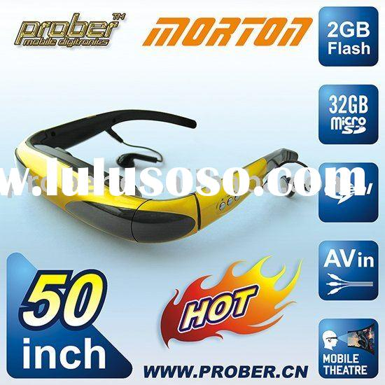 new arrival cheap video glasses/car video/car dvd player/car audio