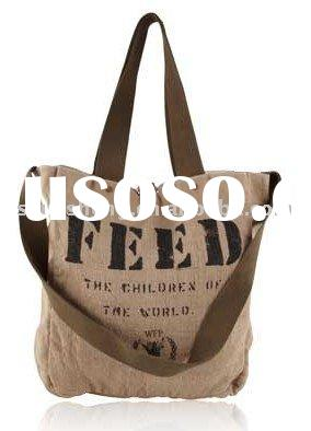 organic cotton & jute bag