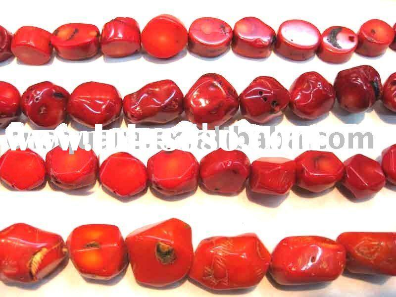 red coral beads,gemstone,semi-precious stone,natural stone,wholesale beads