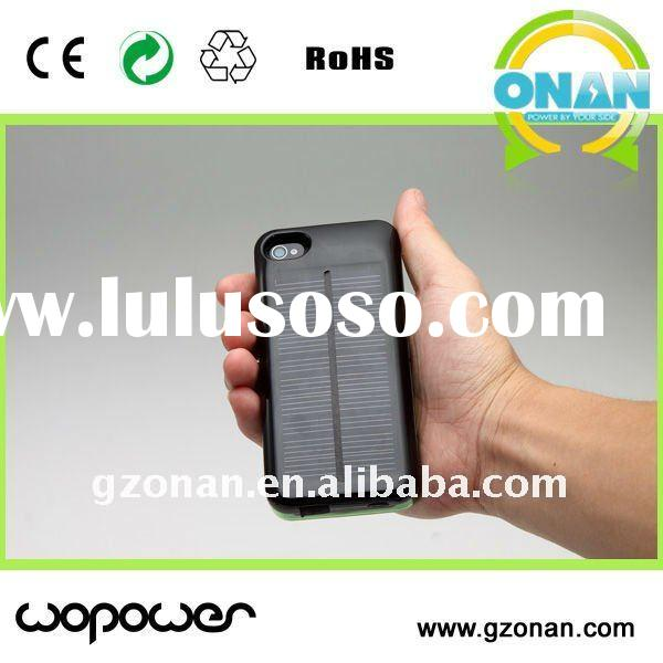 solar battery charger case power pack for iphone 3G/3GS/4/4S