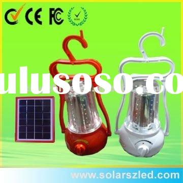 solar camping lantern for outdoor travelling and hiking