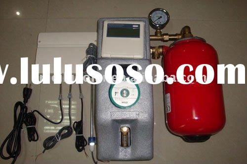 solar energy working station, solar hot water heater, pump station