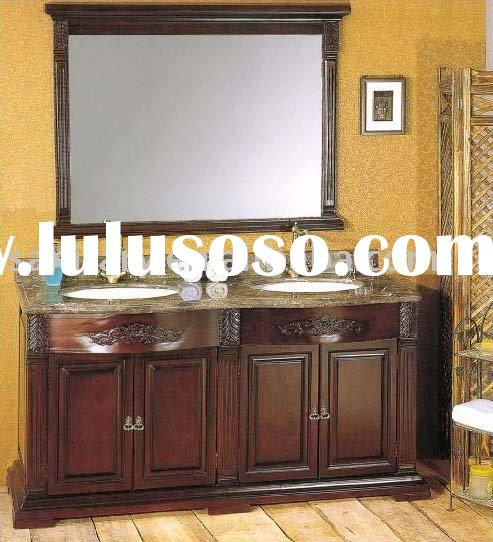 solid wood bathroom cabinet,solid wood cabinet,wooden vanity,bathroom vanity cabinet,bath furniture,