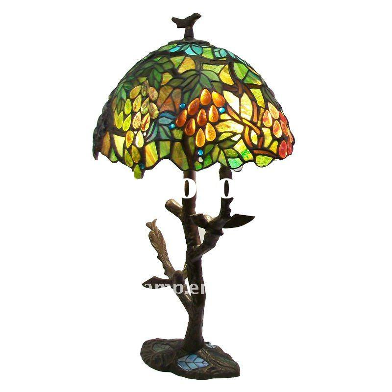 stained glass lamp shade tiffany table lamp