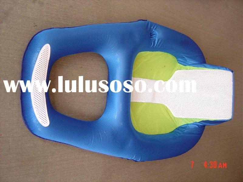 the inflatable sand beach floats the platoon,inflatable aquatic deck chair,inflatable leisure chair,