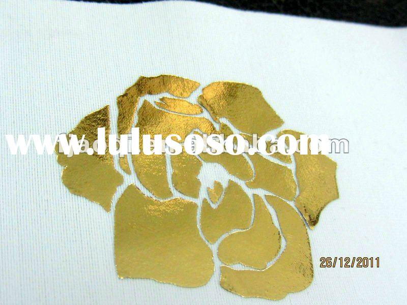thermal heat transfer foil for textile
