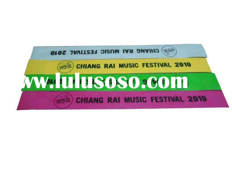 tyvek wristbands for events
