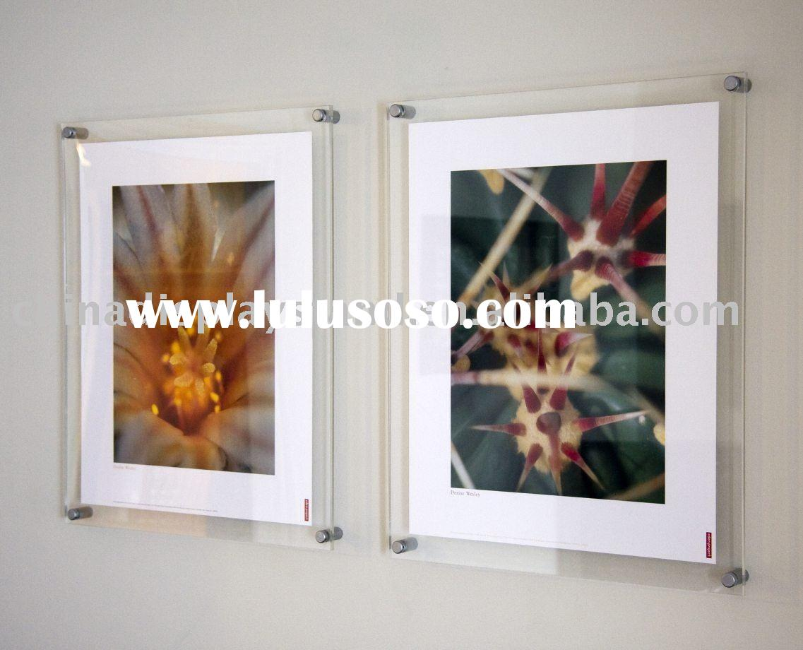 wall mounted acrylic photo frame,picture frame,