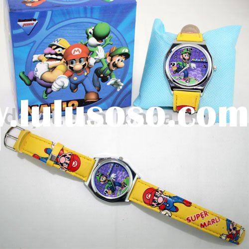 wholesale christmas gift SUPER MARIO watch for kid children's watch mix order C5824