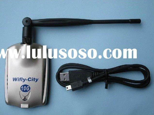 wifi decoder adaptor,wifly city,wireless wifi receiver,wireless LAN card,free shipping by EMS