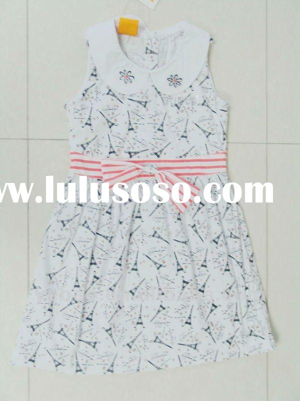 100% cotton kids clothes for summer 2012
