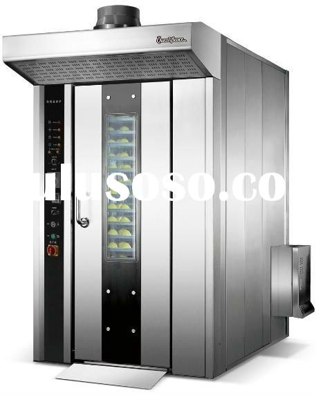 16 trays capacity gas fired rotary oven, bread oven, baking oven