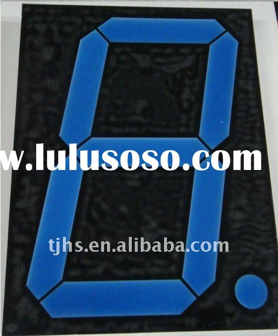 1 2 inch seven segment led display with blue color outdoor
