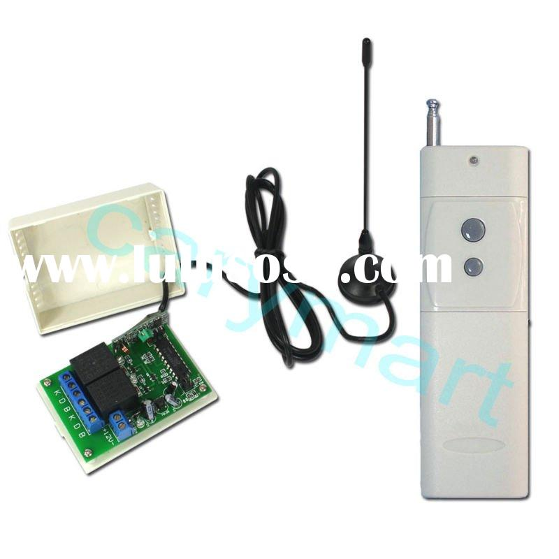 2000M 2 Channels DC 9V/12V/24V Wireless Remote Switch - Transmitter & Receiver - Toggle Control