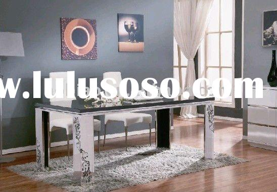 2011 New Desgin Hot Sales Stainless Steel Dining table and chair