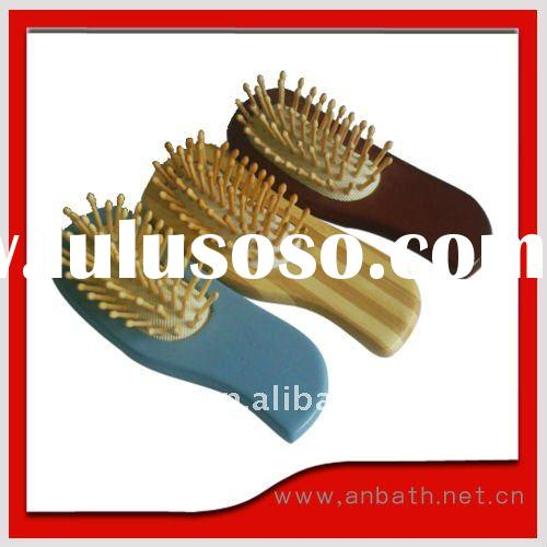 2011 Newest style wooden hair brush