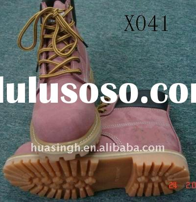 2011 fashion steel toe military shoes for women