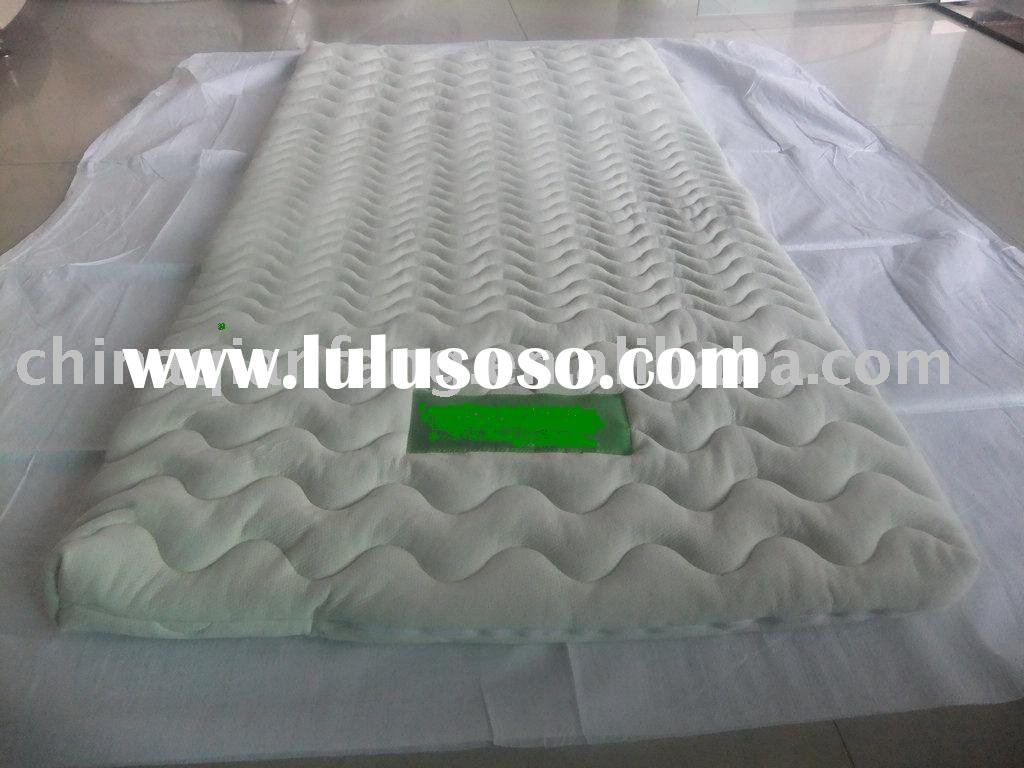 2011 quilted mattress cover with 3 sides zipper