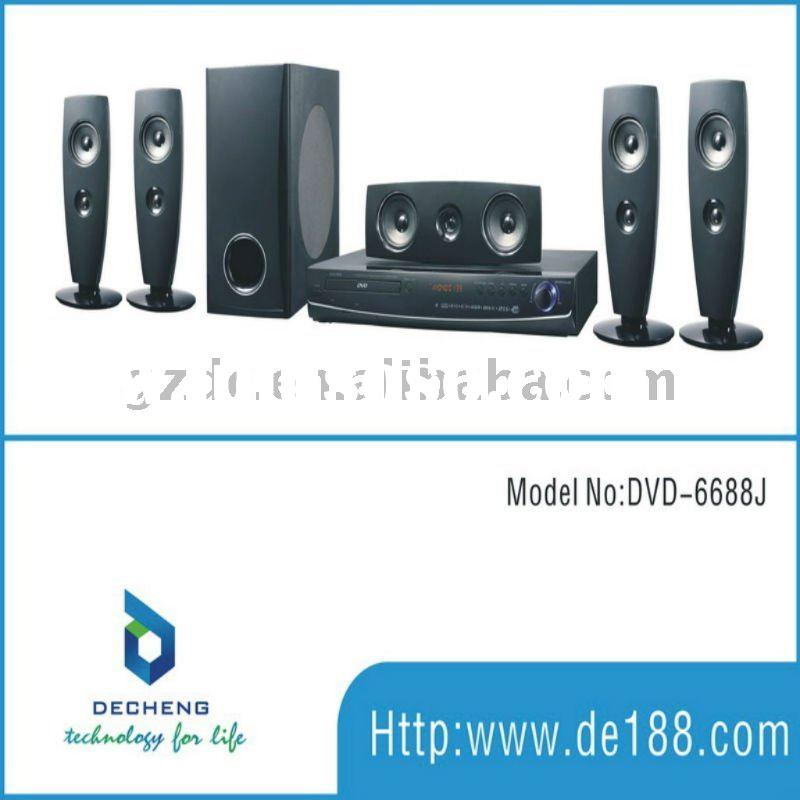 2011new 5.1 DVD home theatre surround sound system 6688J