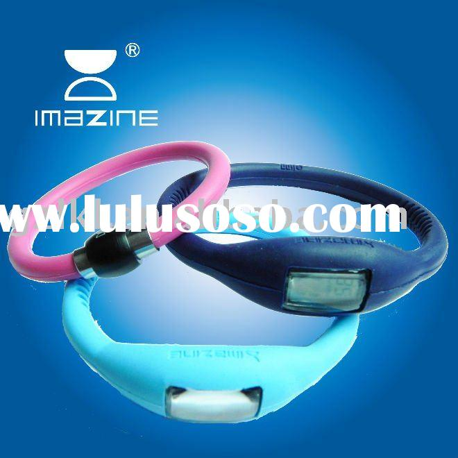 2012 Fashion Silicone Wristband with 1700ions