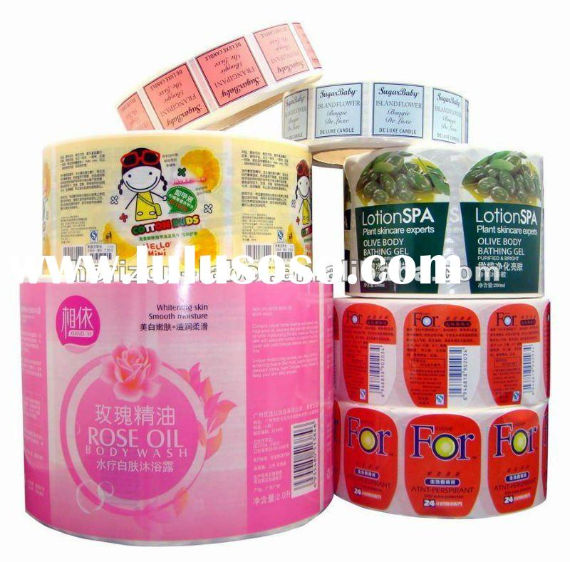 2012 HOT Best Price Adhesive Labels