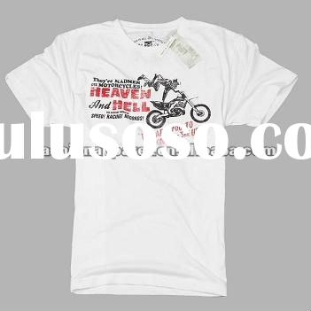 2012 hot sale design 100% cotton men tshirts
