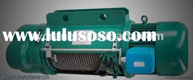 220v wire rope electric hoist for crane