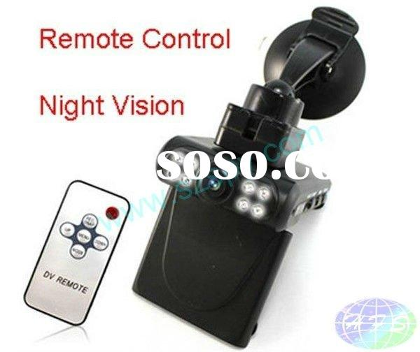 2.5'TF 120 Degree View Angle Night Vision Car CCTV With Remote Control