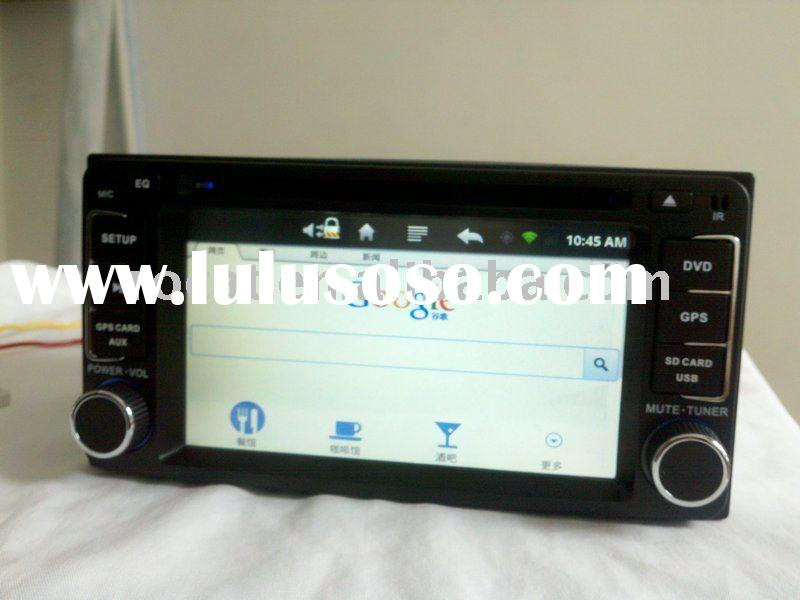 2 din car dvd android car pc with wifi bluetooth 3g ipod gps