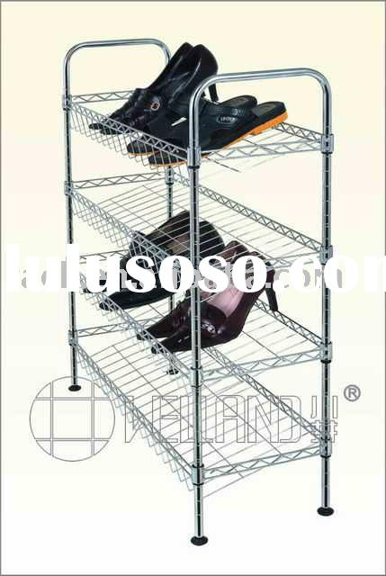 Five Tier Rolling Metal Shoe Rack For Sale Price China