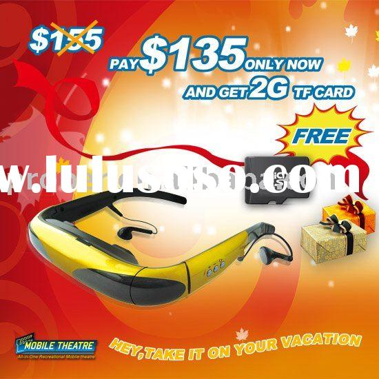 50 Inch Video Glasses ,Portable Multimedia Player
