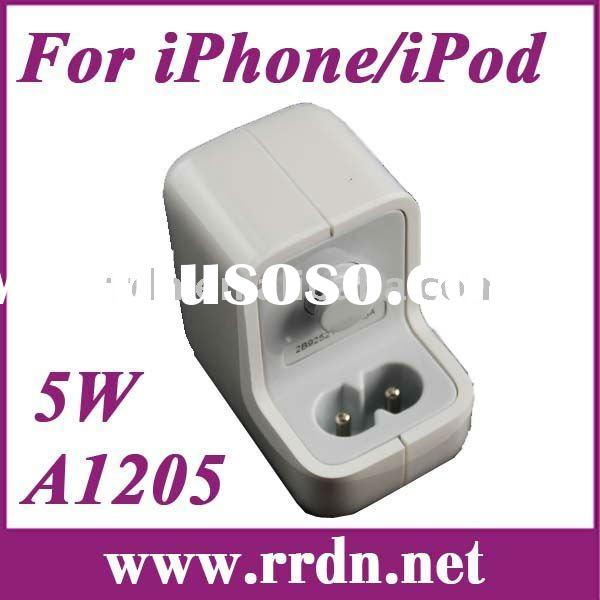 5W USB Charger Power adapter A1205 for iPod for iPhone