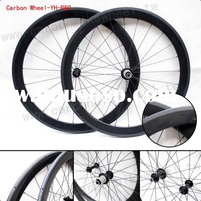 700C Carbon Fiber Bicycle Wheels/Tubular profile