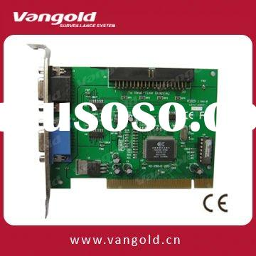 8CH PCI-E DVR Card Support Linux VG-Linux2008