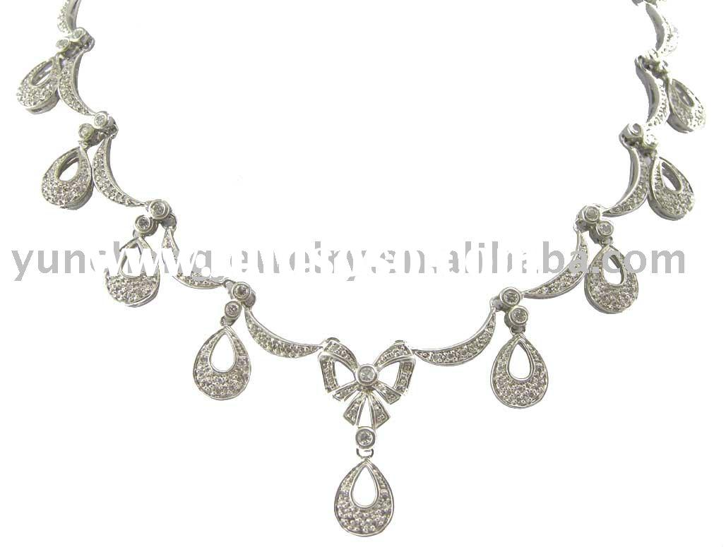 925 Sterling Silver Necklace / Fashion Jewelry