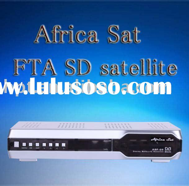 Africa sat FTA decode set top box receiver