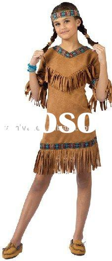 American Indian Girl Child indian Costume bscc-0970