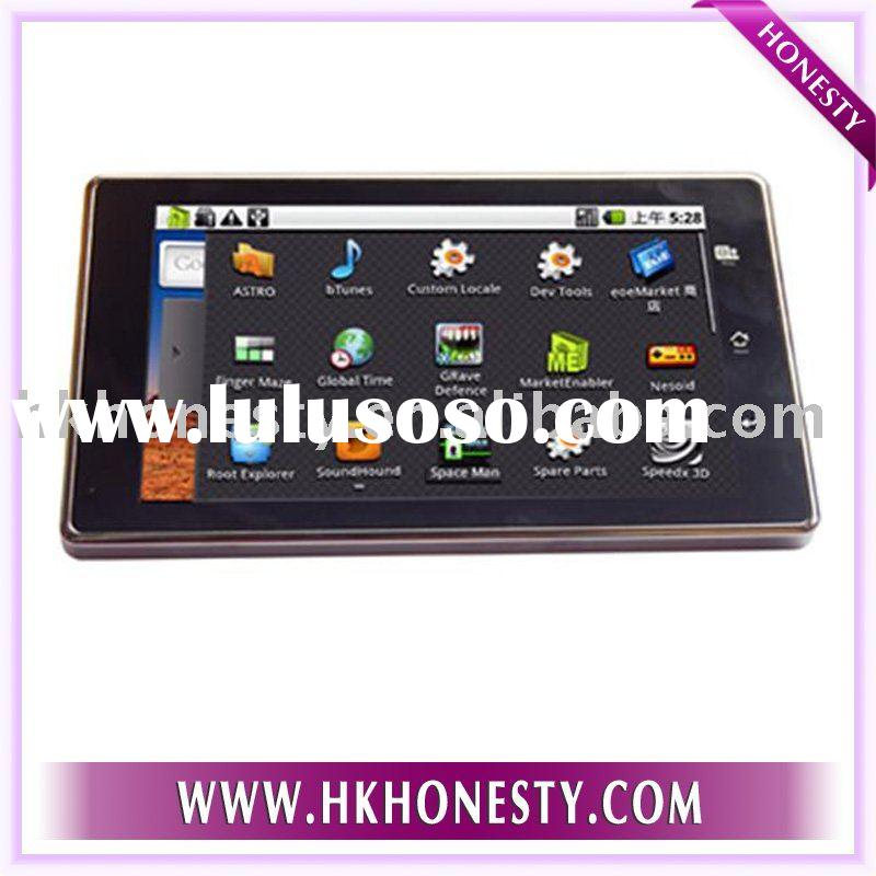 Android 2.1 google system Tablet pc 7 inch touch screen 3G+ WIFI+camera with free leather case
