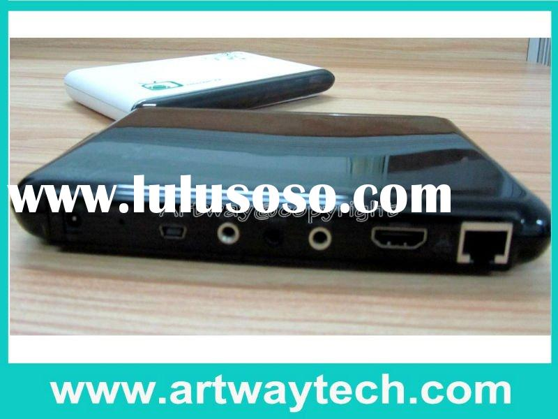 Android 4.0 IPTV set top box, support WiFi, SD card, USB Host, skype video-conference