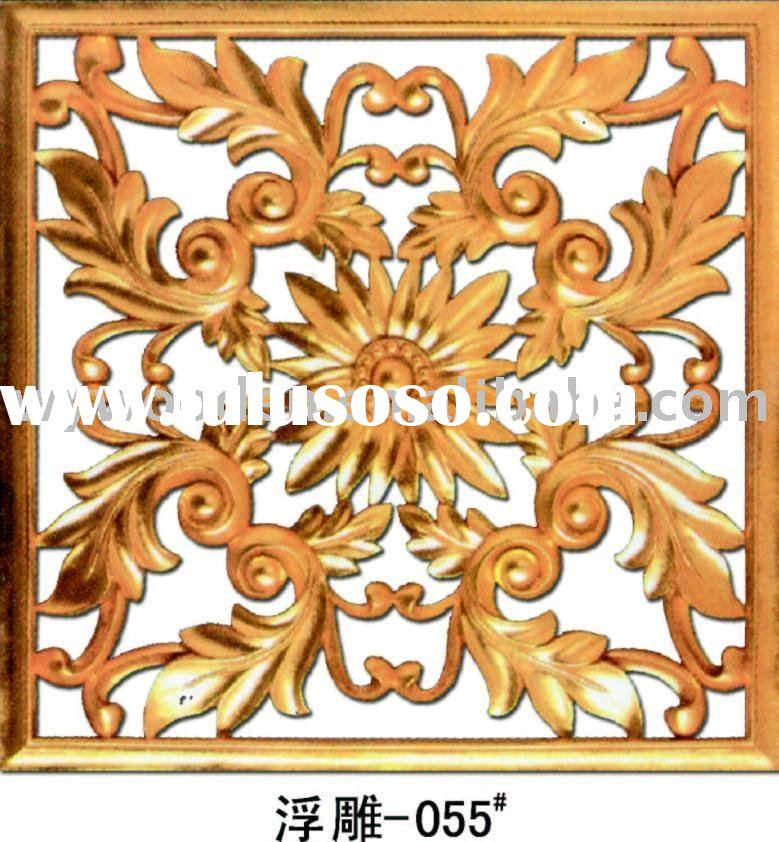 Antique imitation carved decorative wall panel