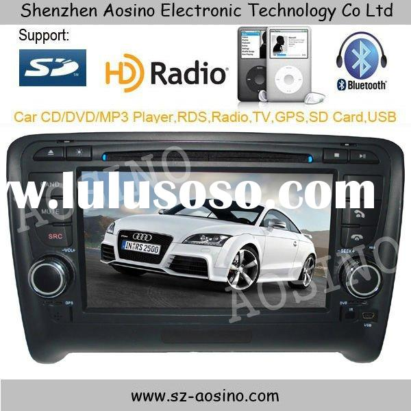 Aosino new and high quality AUDI TT car dvd player with gps rds