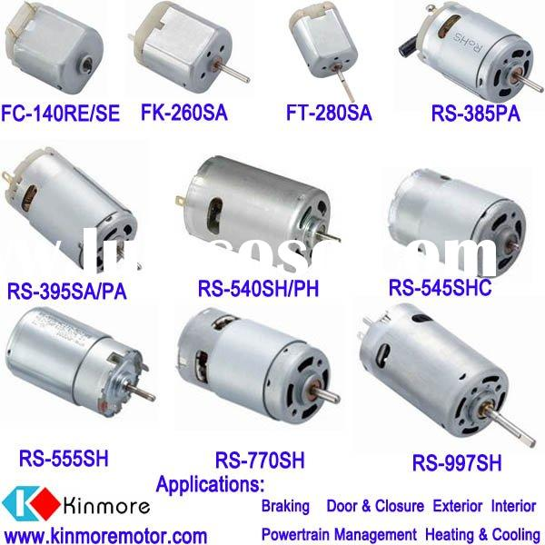 Auto DC motor for car window, door and air pump
