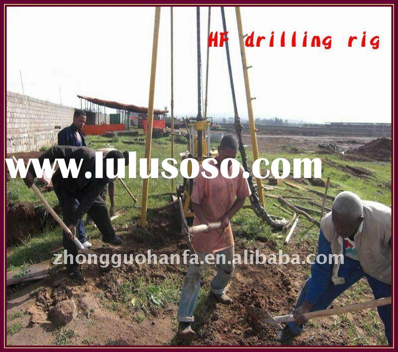 Best seller !!! Most capable small well drill rig,portable digging water well drilling machine,Model