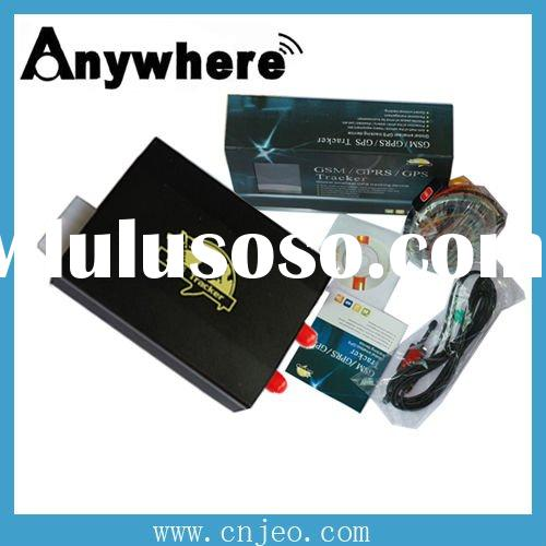 Car GPS tracker with remote control,google map link,overspeed/theft alert,real time tracking,monitor