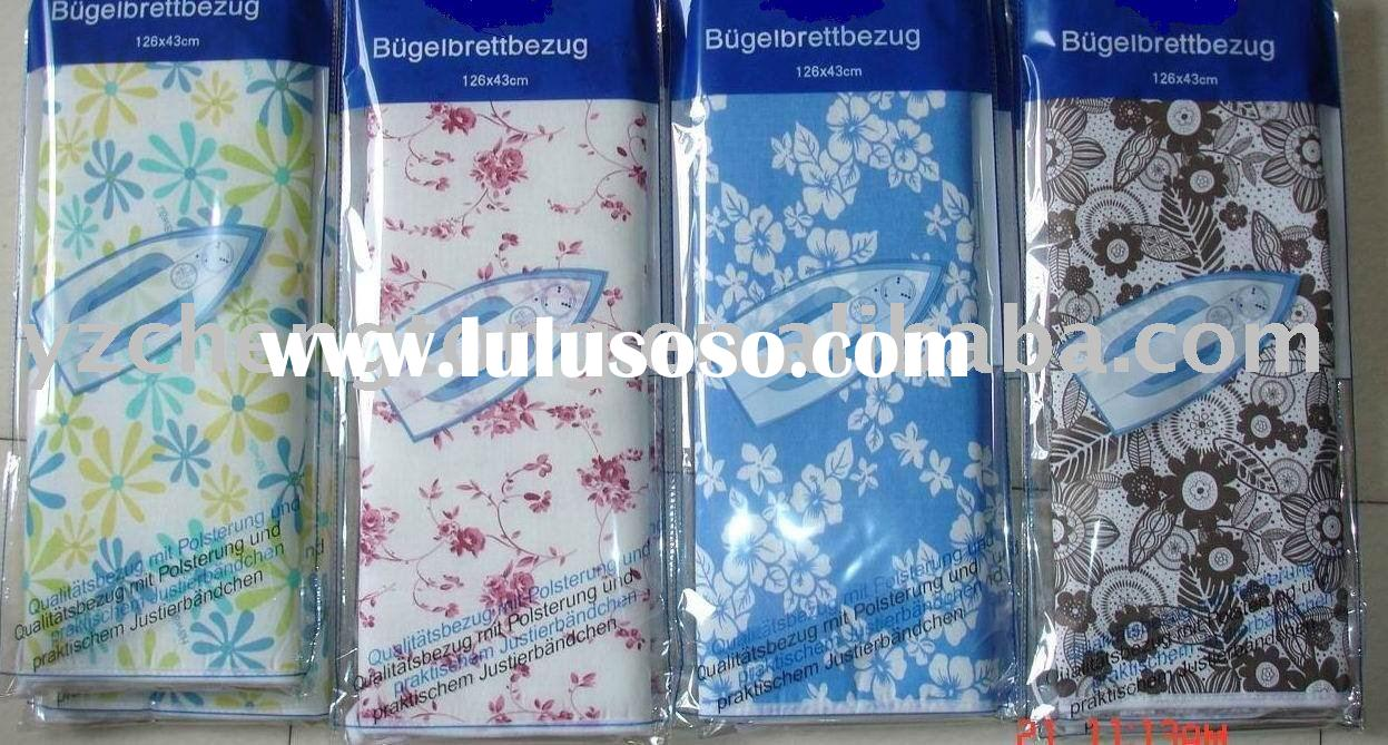 Cloth ironing board cover