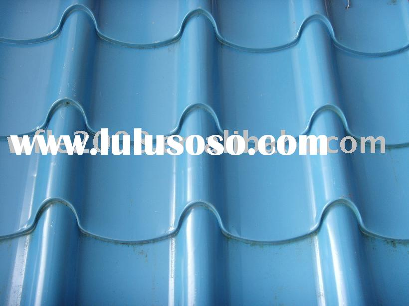 Color glazed tile{aluminum roofing/FRP roofing/galvanized(zinc coating roofing/steel roofing}