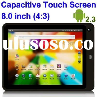 Corepad Z9 White, 8.0 inch Capacitive Touch Screen Android 2.Tablet PC with WIFI, Dual Cameras, Supp