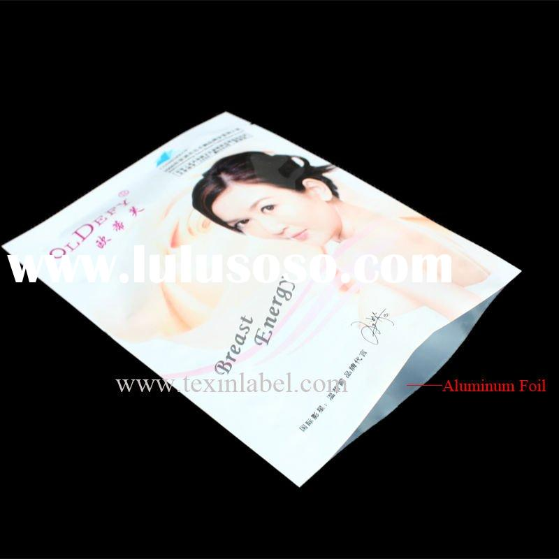Cosmetic bag / Printed plastic bags, Plastic packaging sachets for personal care