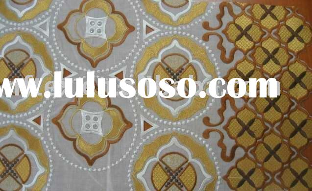 Cotton Embroidery Swiss Lace fabric African Voile lace fabric